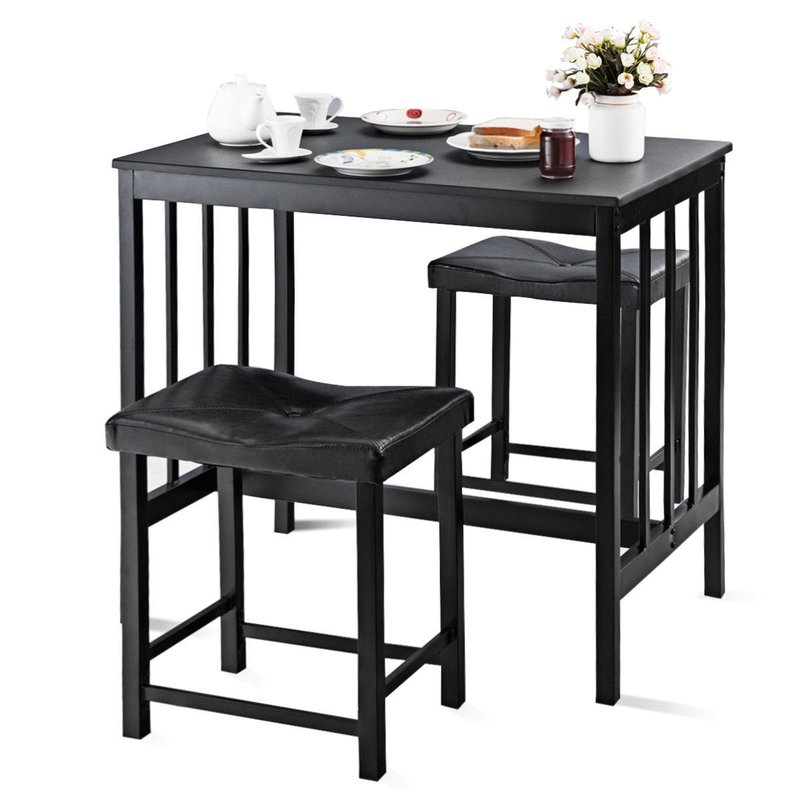 Miskell 3 Piece Dining Set Regarding Miskell 5 Piece Dining Sets (View 23 of 25)