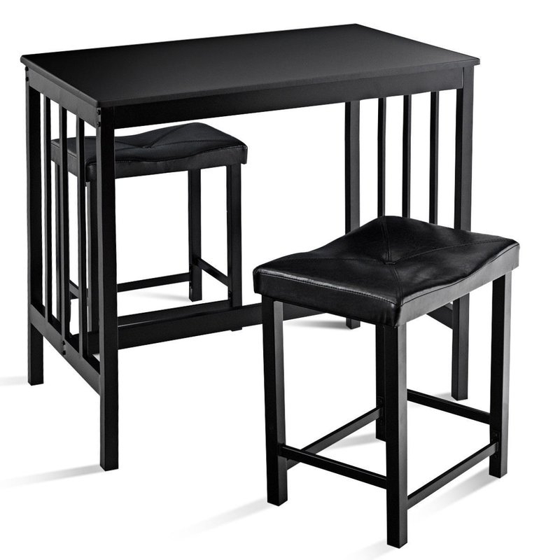 Miskell 3 Piece Dining Set Within Miskell 3 Piece Dining Sets (View 5 of 25)