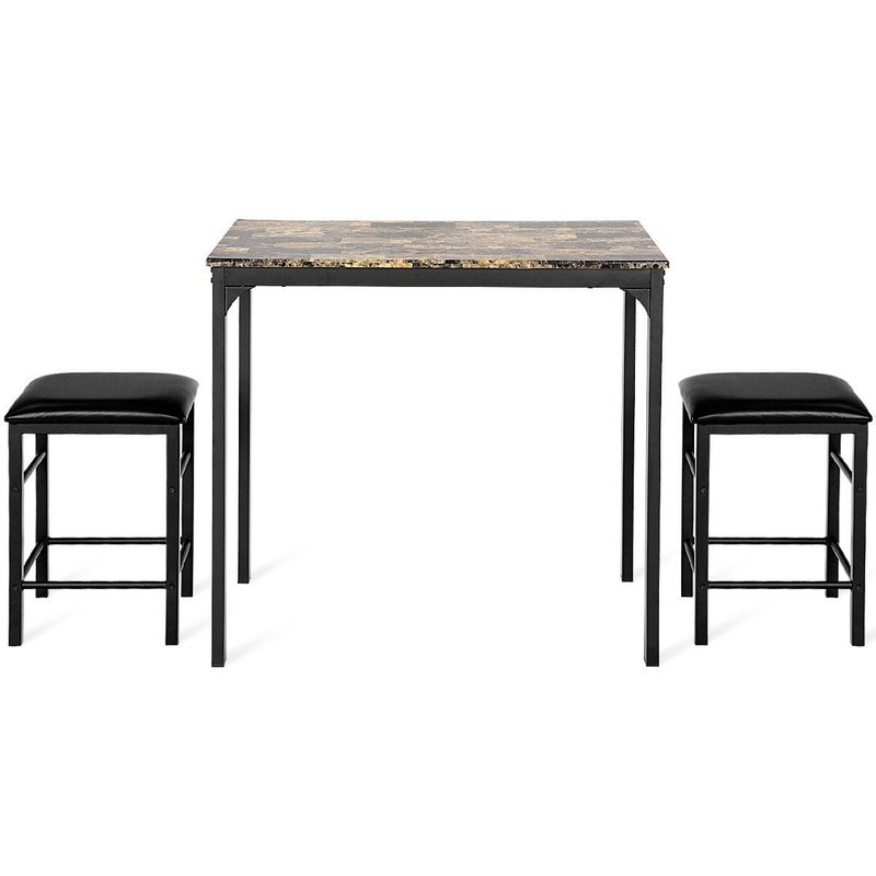 Mitzel 3 Piece Dining Set With Mitzel 3 Piece Dining Sets (View 5 of 25)