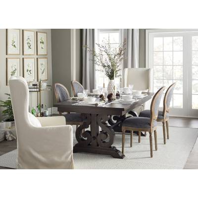 Mitzel Upholstered Dining Chair | Birch Lane For Mitzel 3 Piece Dining Sets (View 25 of 25)