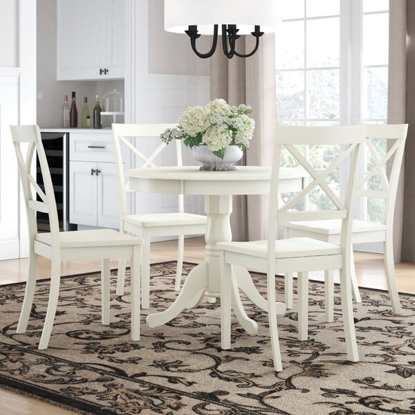 Modern Avera 5 Piece Dining Setcharlton Home 2019 Coupon In Kaelin 5 Piece Dining Sets (View 5 of 25)