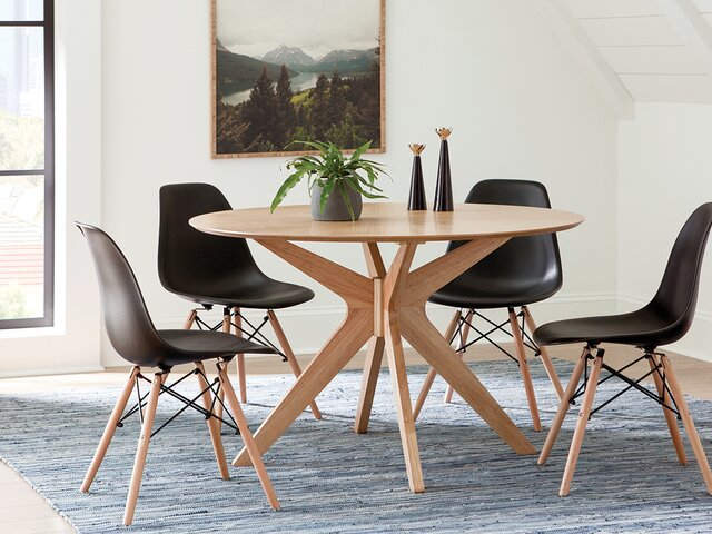 Modern & Contemporary Dining Room Sets | Allmodern Throughout Liles 5 Piece Breakfast Nook Dining Sets (Image 22 of 25)