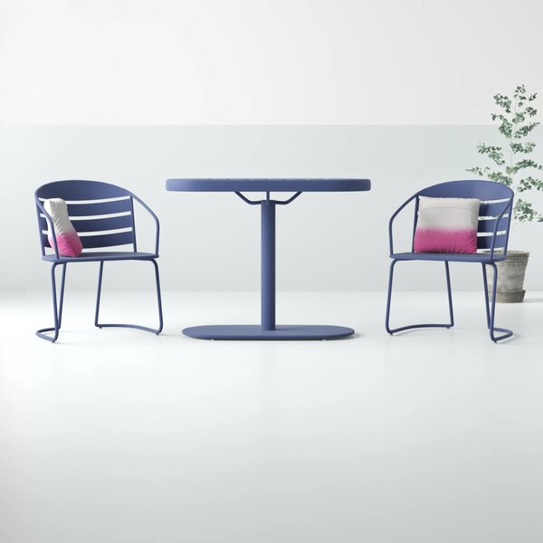 Modern & Contemporary Indoor Kitchen Bistro Sets | Allmodern Inside Berrios 3 Piece Counter Height Dining Sets (Image 22 of 25)