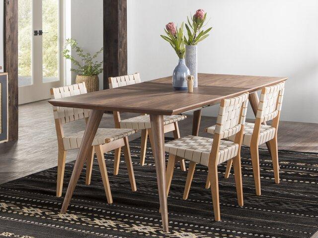 Modern Dining Chairs | Allmodern Regarding Adan 5 Piece Solid Wood Dining Sets (Set Of 5) (Image 24 of 25)