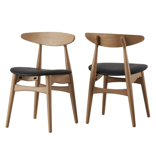 Modern Dining Chairs | Allmodern Throughout Adan 5 Piece Solid Wood Dining Sets (Set Of 5) (Image 25 of 25)