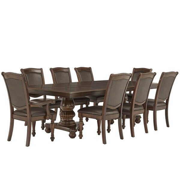 Modern Girard 7 Piece Dining Setwade Logan Today Sale Only Pertaining To Wallflower 3 Piece Dining Sets (Image 13 of 25)
