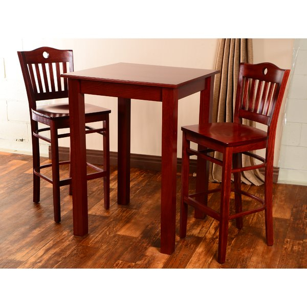 Modern Isaacs 3 Piece Pub Table Setwinston Porter Cool | Kitchen Inside Presson 3 Piece Counter Height Dining Sets (Image 16 of 25)