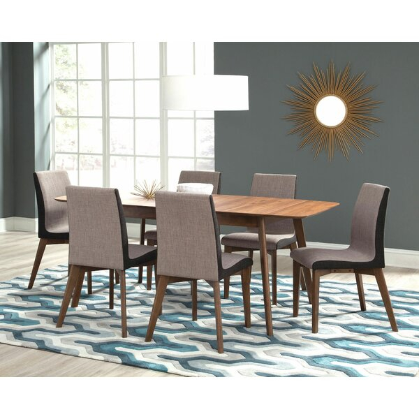 Modern Pruden 7 Piece Dining Setbrayden Studio Great Reviews With Bearden 3 Piece Dining Sets (View 25 of 25)