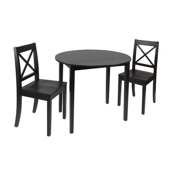 Modern Tiago 3 Piece Drop Leaf Dining Setlaurel Foundry Modern For Tejeda 5 Piece Dining Sets (View 9 of 25)