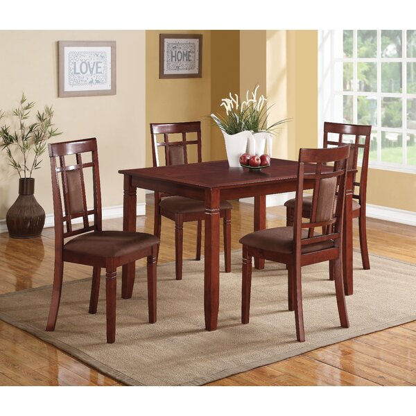 Modern Wantage 5 Piece Dining Setalcott Hill Discount | Kitchen With Lamotte 5 Piece Dining Sets (View 8 of 25)