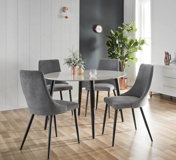 Monaco 5 Piece Dining Set With Mode Chair Within 5 Piece Dining Sets (Image 19 of 25)
