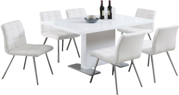 Moorhead Dining Table In Moorehead 3 Piece Counter Height Dining Sets (Image 20 of 25)