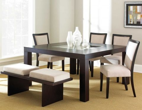 Movado – Steve Silver Company – Dining Room Furniture Manufacturer Regarding Castellanos Modern 5 Piece Counter Height Dining Sets (View 21 of 25)