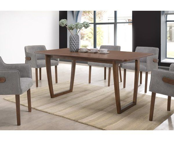 Mukai Dining Table In 2019 | Dining Room | Dining Table, Table For Mukai 5 Piece Dining Sets (View 7 of 25)