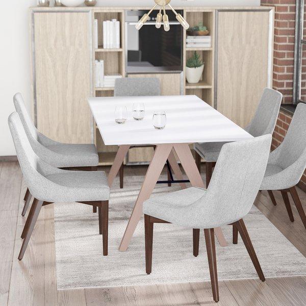 Mukai Upholstered Benchmercury Rowmercury Row 2019 Online On Inside Mukai 5 Piece Dining Sets (View 25 of 25)