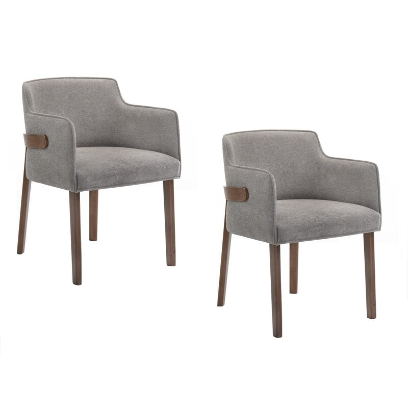 Mukai Upholstered Dining Chair In Mukai 5 Piece Dining Sets (View 15 of 25)