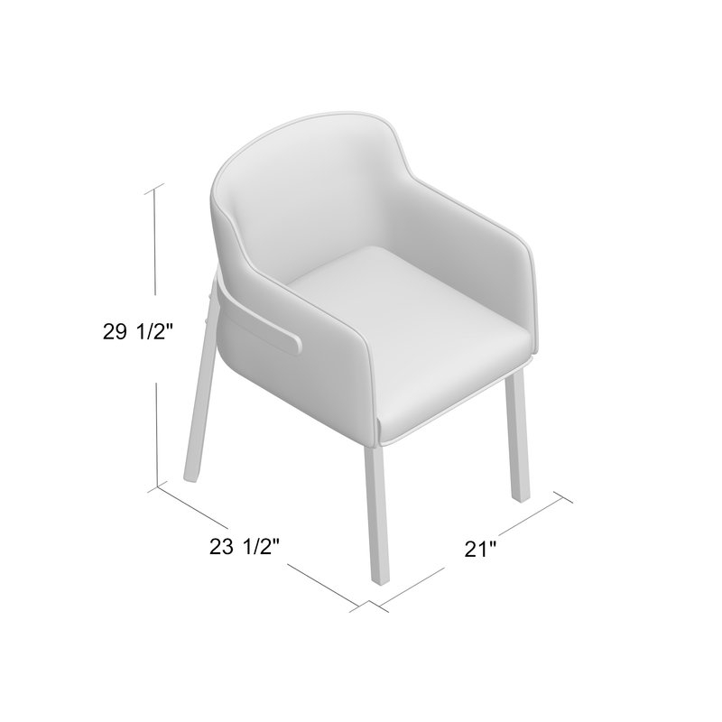 Mukai Upholstered Dining Chair With Mukai 5 Piece Dining Sets (View 11 of 25)