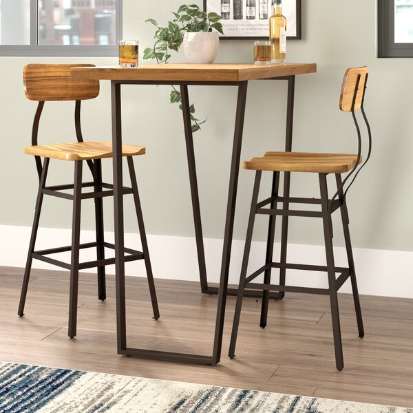 New Boylan Bar Setunion Rustic Coupon | Kitchen & Dining Room Sets Throughout Middleport 5 Piece Dining Sets (Image 19 of 25)