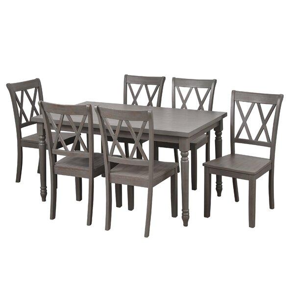 New Design Kristopher 7 Piece Dining Setophelia & Co. Sale for Autberry 5 Piece Dining Sets