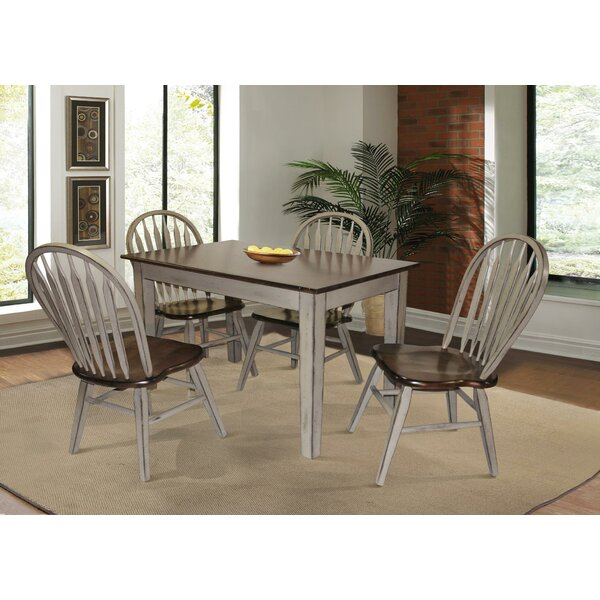 New Matisse Transitional Counter Height 5 Piece Pub Table Setred For Miskell 5 Piece Dining Sets (View 14 of 25)
