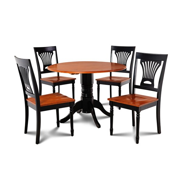 New Matisse Transitional Counter Height 5 Piece Pub Table Setred in Miskell 5 Piece Dining Sets