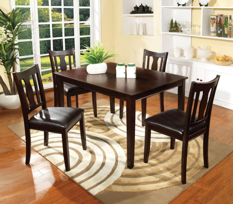 Northvale I 5 Piece Dining Table Set Within Calla 5 Piece Dining Sets (Image 21 of 25)