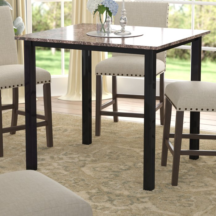 Noyes 5 Piece Dining Set Intended For Noyes 5 Piece Dining Sets (Image 16 of 25)