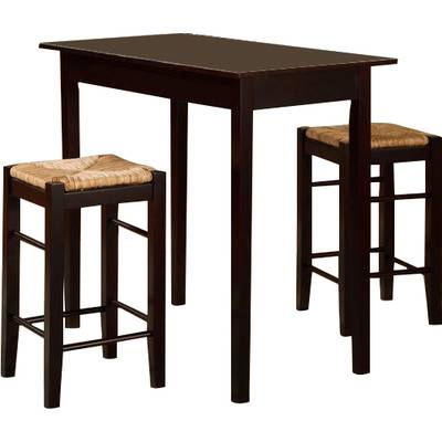 Nutter 3 Piece Dining Set & Reviews | Joss & Main with regard to Tenney 3 Piece Counter Height Dining Sets