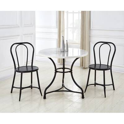 Offex 3 Piece Dining Set & Reviews | Wayfair Regarding Honoria 3 Piece Dining Sets (Image 19 of 25)