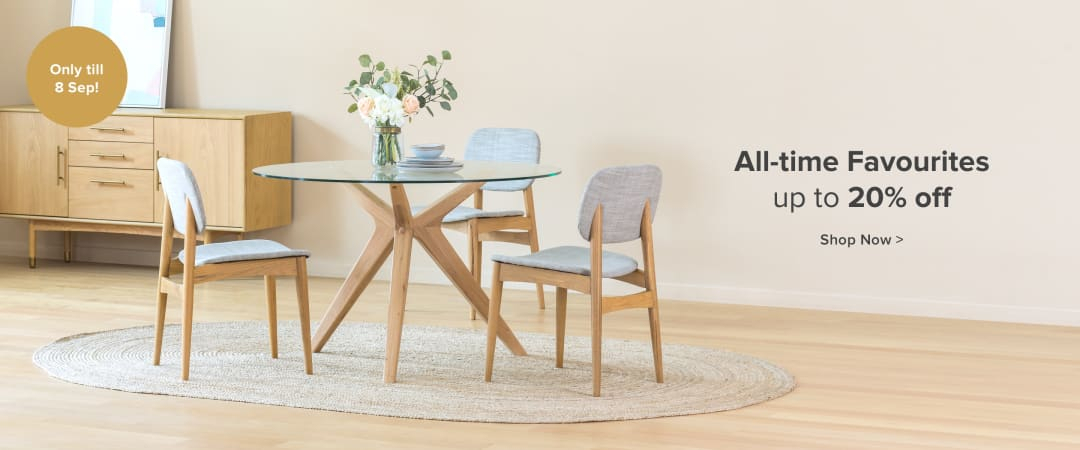 Online Furniture Shop In Singapore | Castlery Singapore For North Reading 5 Piece Dining Table Sets (Image 24 of 25)