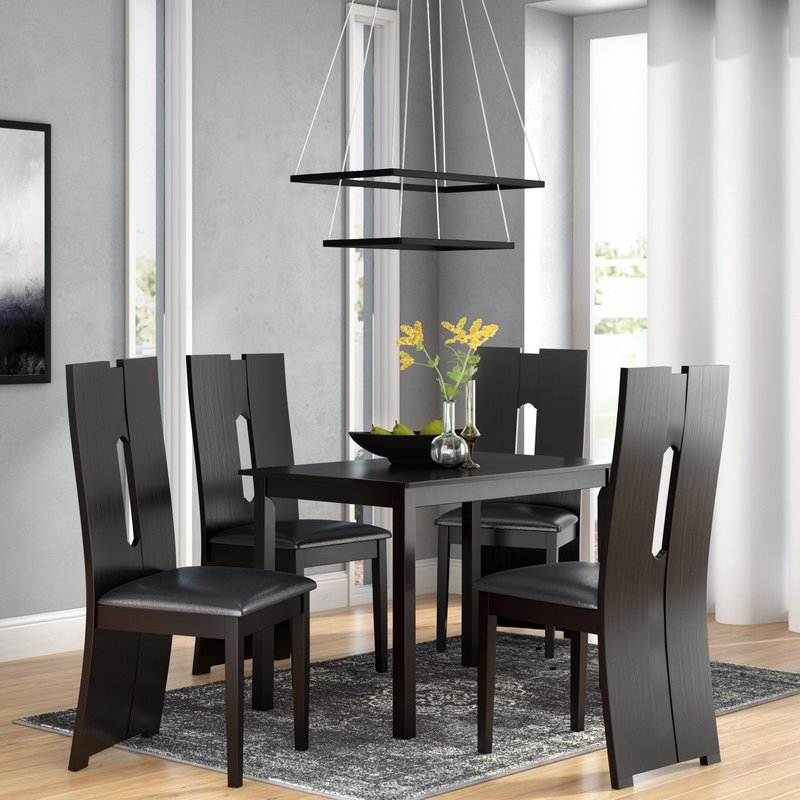 Onsted Modern And Contemporary 5 Piece Breakfast Nook Dining Set With 5 Piece Breakfast Nook Dining Sets (Photo 7537 of 7746)