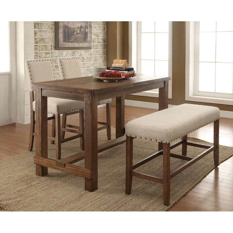 Orth 4 Piece Dining Set Pertaining To Queener 5 Piece Dining Sets (Photo 13 of 25)