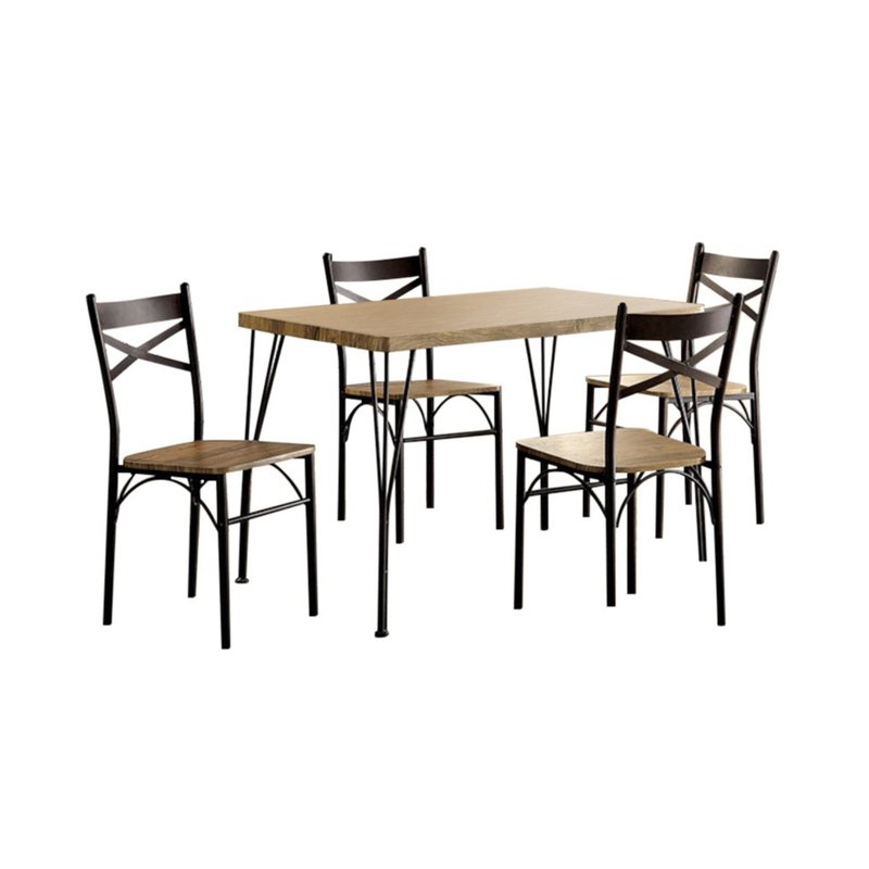 Owasco 5 Piece Dining Set Within Conover 5 Piece Dining Sets (Photo 23 of 25)