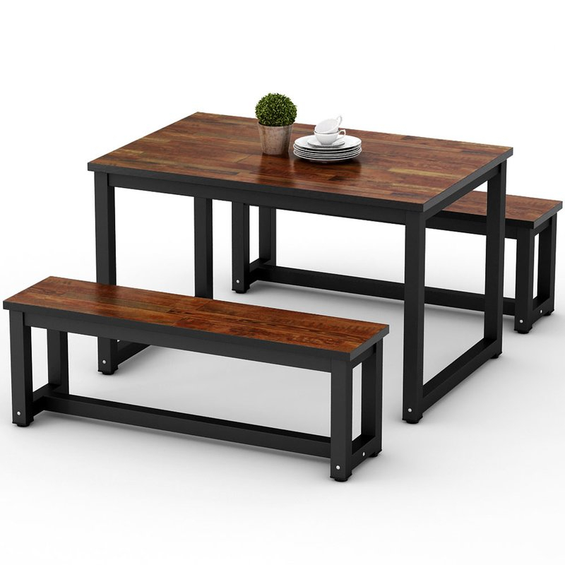 Parikh 3 Piece Dining Set Regarding Frida 3 Piece Dining Table Sets (Image 22 of 25)