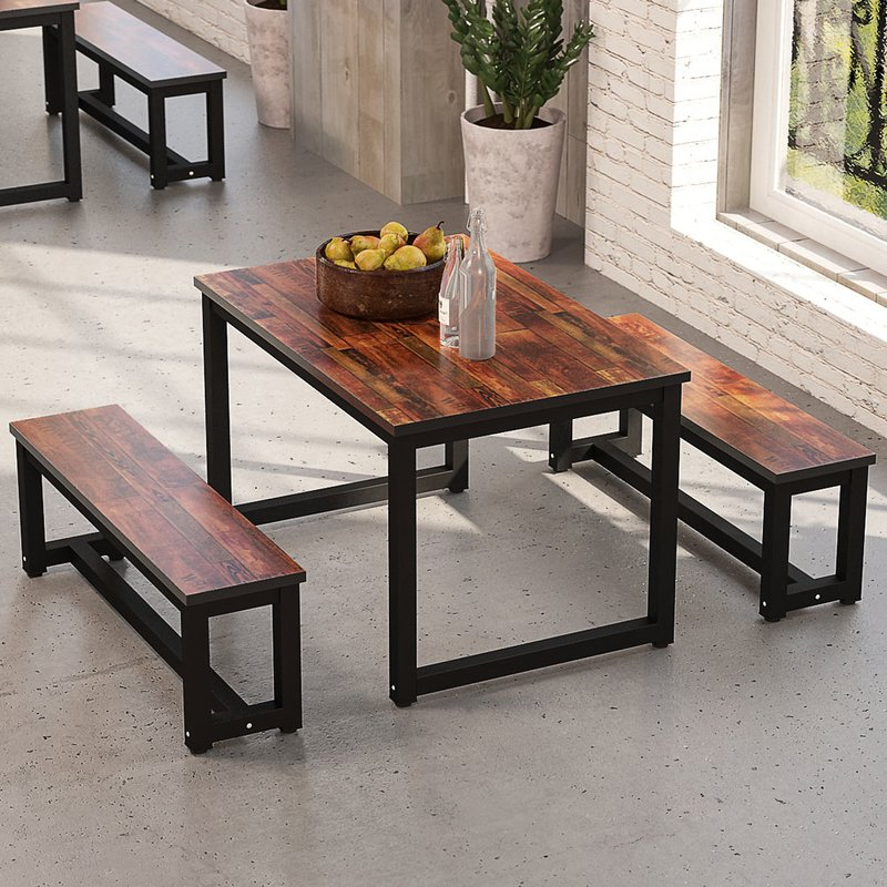 Parikh 3 Piece Dining Set Throughout Frida 3 Piece Dining Table Sets (Image 23 of 25)