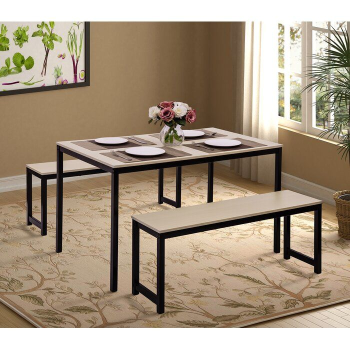 Partin 3 Piece Dining Set In 2019 | Future Home | 3 Piece Dining Set with regard to Partin 3 Piece Dining Sets