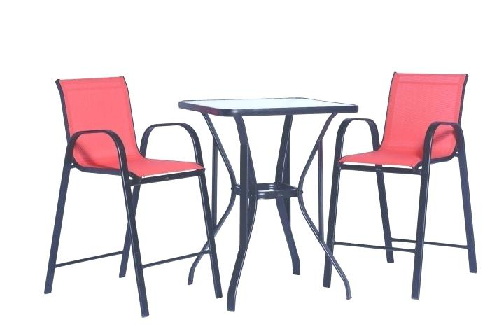 Patio High Dining Set – Cockos (Image 24 of 25)