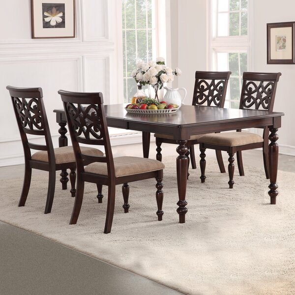 Paulette 7 Piece Dining Setdarby Home Co Great Reviews | Kitchen For Mulvey 5 Piece Dining Sets (View 9 of 25)