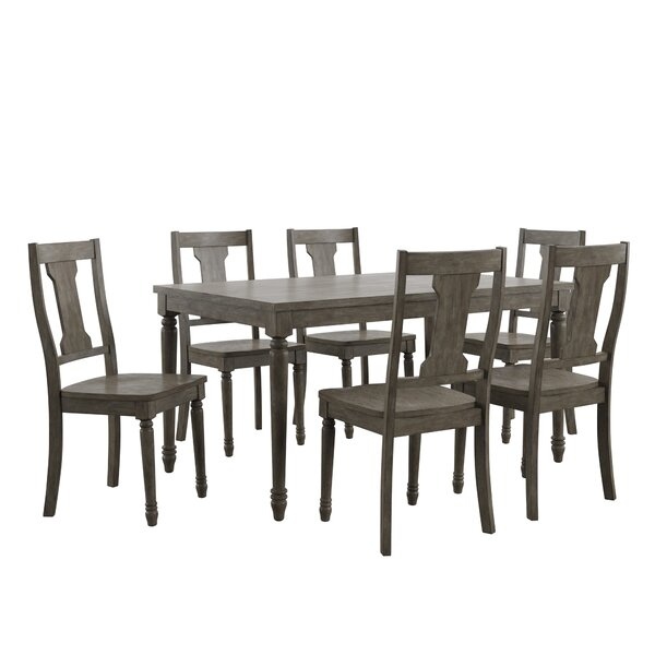 Petrucci Reclaimed Wood 7 Piece Dining Setalcott Hill Today Sale With Regard To Wiggs 5 Piece Dining Sets (View 12 of 25)