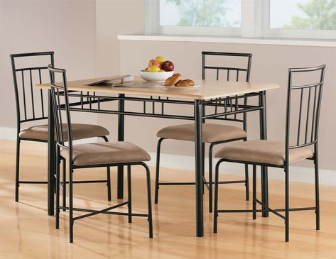Pinterest Pertaining To Jarrod 5 Piece Dining Sets (View 7 of 25)