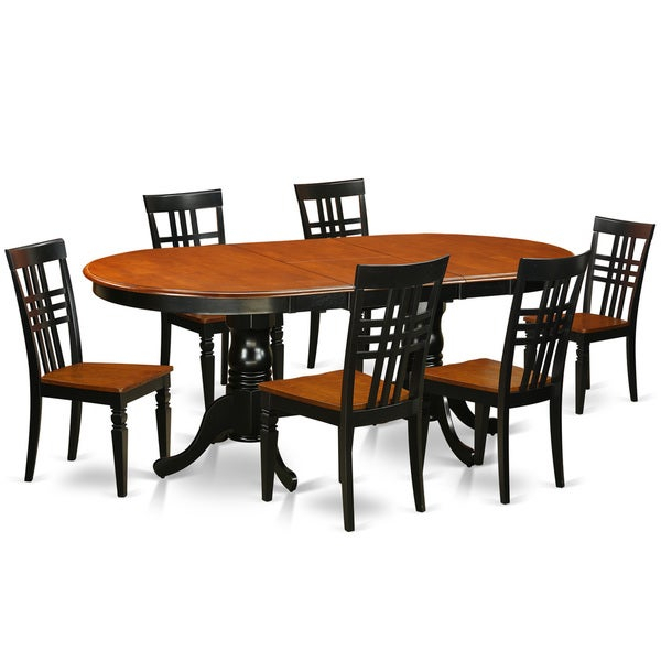 Plainville 7-Piece Dining Table And Chairs Set for Lonon 3 Piece Dining Sets