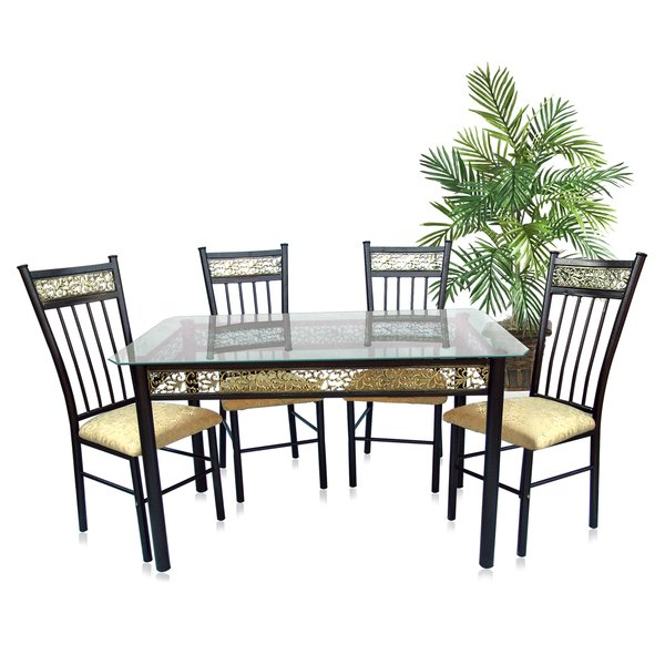 Queener 5 Piece Dining Set within Queener 5 Piece Dining Sets