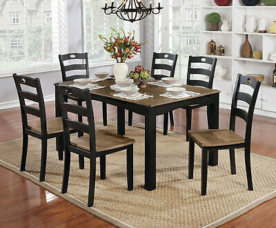 Red Barrel Studio Belmore 5 Piece Counter Height Dining Set Regarding Hanska Wooden 5 Piece Counter Height Dining Table Sets (Set Of 5) (Image 18 of 25)
