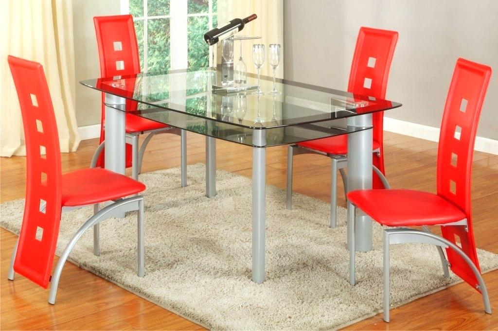 Red Dining Set – Thenewworker (View 12 of 25)