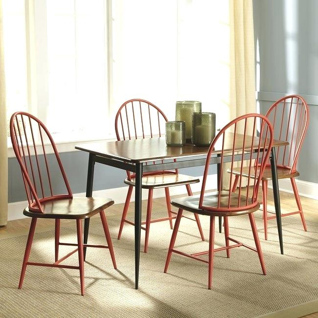 Red Dining Set – Virginiablue (View 18 of 25)