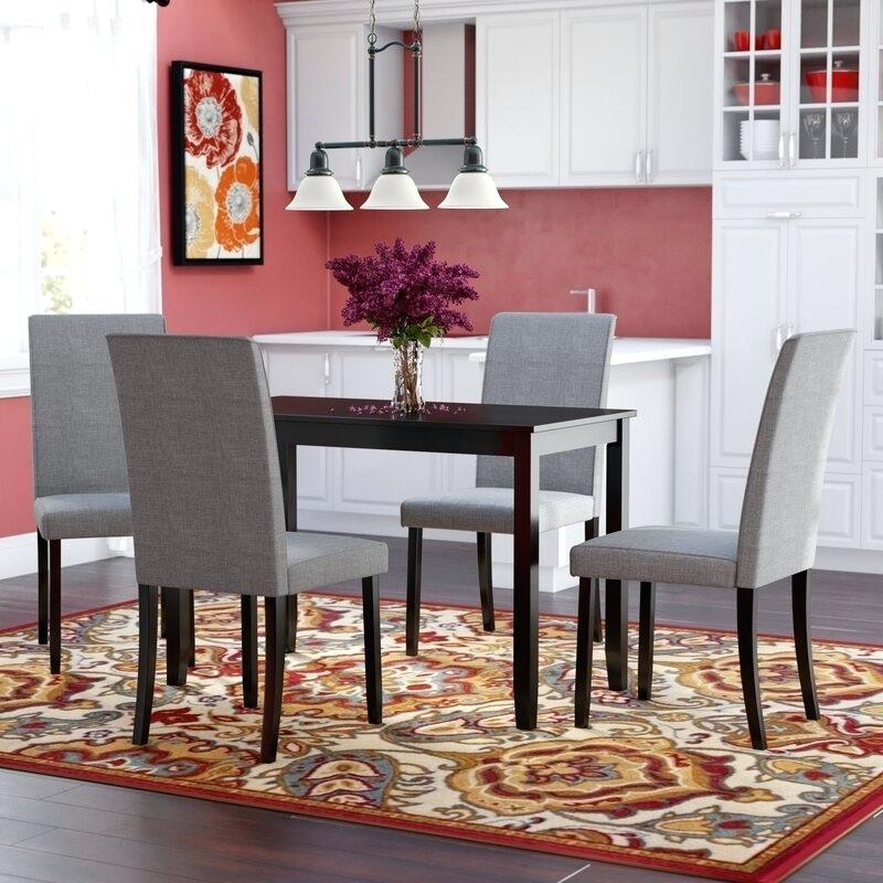 Red Dining Set – Virginiablue (View 15 of 25)