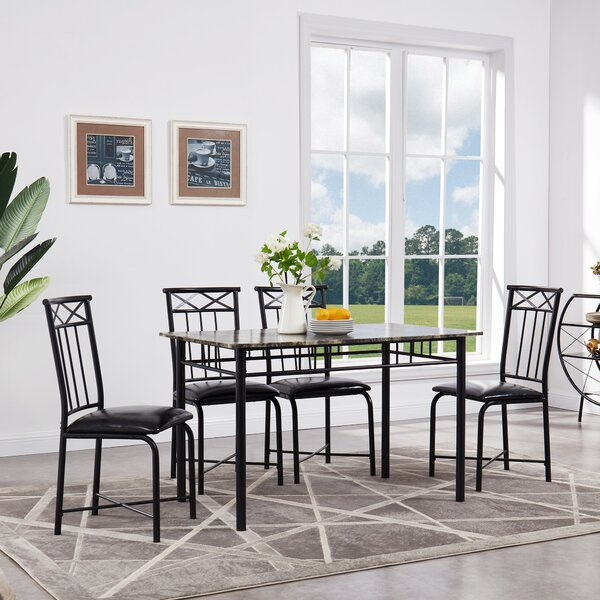 Featured Photo of Reinert 5 Piece Dining Sets
