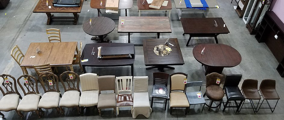 Reno Clearance Furniture Center | Rc Willey Furniture Store With Wallflower 3 Piece Dining Sets (Image 17 of 25)