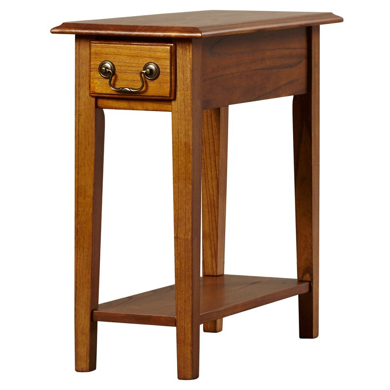 Revere Broomhedge End Table With Storage Regarding Weatherholt Dining Tables (Image 10 of 25)