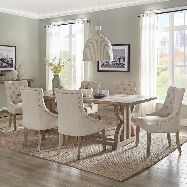 Reviews Dunster 4 Piece Dining Setdarby Home Co Herry Up In Baillie 3 Piece Dining Sets (View 22 of 25)